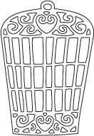 Bird Cage Die (10007)