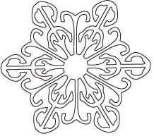 Savvy Large Snowflake (10056)