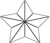 Savvy Folded Star Die (10059)