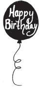 Birthday Balloon (1317e)