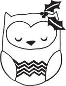 Chevron Owl (1328g)