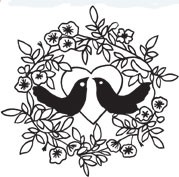 Bird Wreath (1345h)