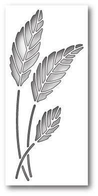 Poppystamps Gentle Leaf Collage (1840)