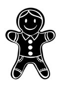 5300D - gingerbread man