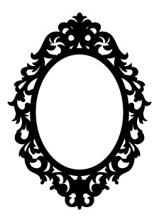 5322F - ornate frame