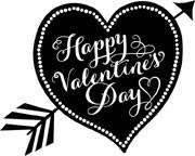 5342e - valentine arrow heart