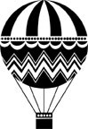 5344D - hot air balloon