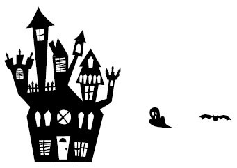 5431F - haunted house combo