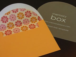 Envelope Liner Template
