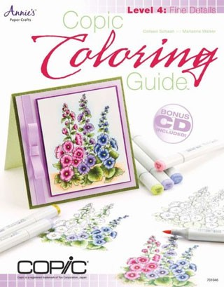 Copic Coloring Guide, Details