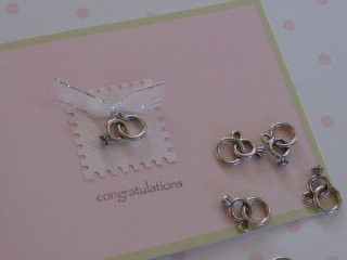 Wedding Ring Charm