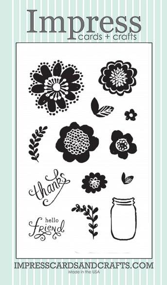 Impress Flower Power Stamp Set