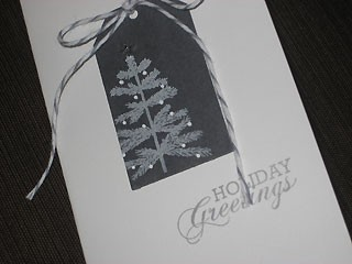 Feather Tree Card