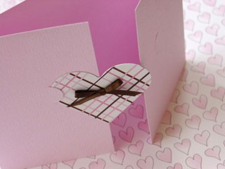 Notched Heart Card