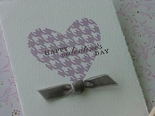 Silver Lilac Heart