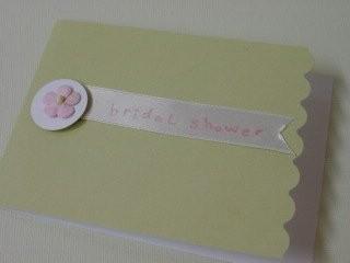 Ribbon Shower Card