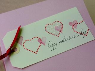 Valentine Tag Card