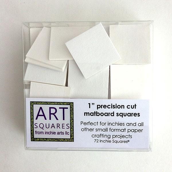 Art squares - white Inchie