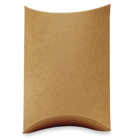 Kraft Pillow Boxes  (5 per pack)