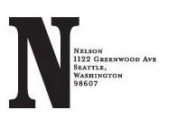 Monogram Address Stamp - Nelson