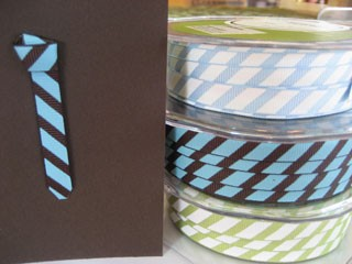 Striped Ribbon for Ties!