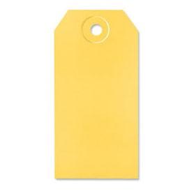 Yellow Shipping Tags