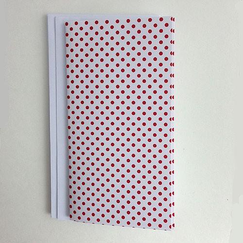 Red dot slim cards