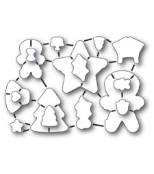Frosted Christmas Die Set (32183)
