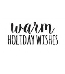 5603c - warm holiday wishes