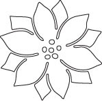 Savvy Poinsettia Die (10060)