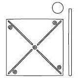 Small Pinwheel Die (10081)