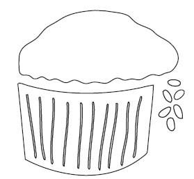 Cupcake Die (10086)