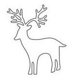 Woodland Deer (10126)