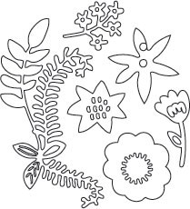 Flower Blossom Set 2 (10151)