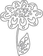 Dot flower Die (10154)