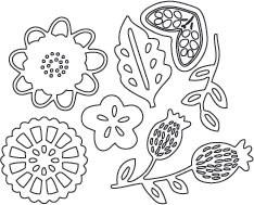 flower combo die set 3 (10155)