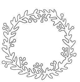 Garden Wreath Die (10157)