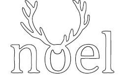 Noel Antlers Die (10184)