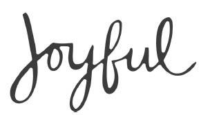 Savvy Joyful Cursive Die (10204)