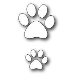 Dog Paw Die (1207)