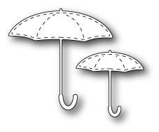 Stitched Umbrellas dies (1218)