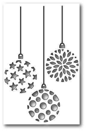 Ornament Trio Cutout (1270)