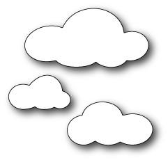 Fluffy Cloud Trio (1281)