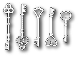 Vintage Key Set (1296)