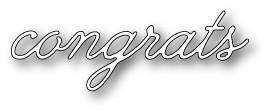 Decor Congrats (1316)