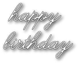 Decor Happy Birthday (1318)