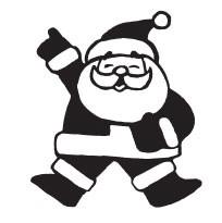 Jolly Santa (1395f)