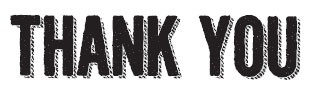 thank you (1424e)