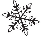 laurel snowflake (1444f)
