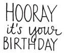 hooray it's your birthday (1483e)